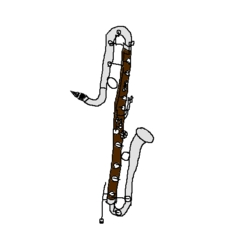 お絵かきした吹奏楽楽器イラスト Music日記みやだい